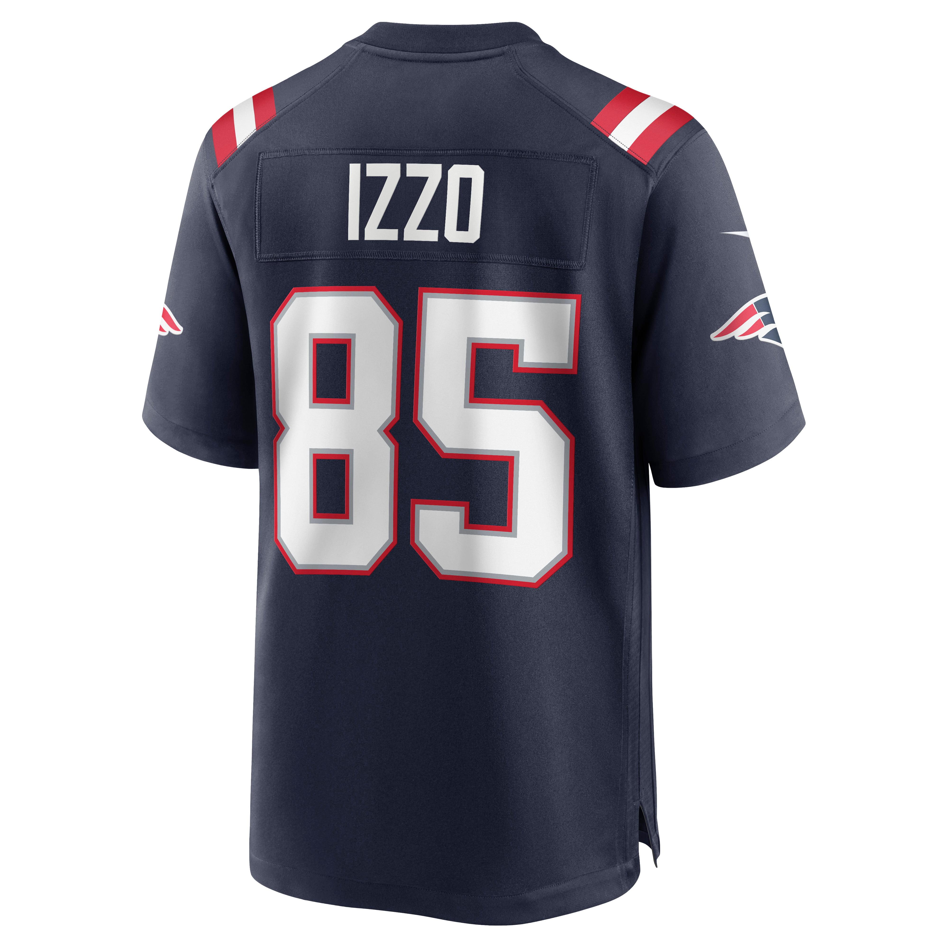 Ryan Izzo New England Patriots Nike Game Jersey - Navy