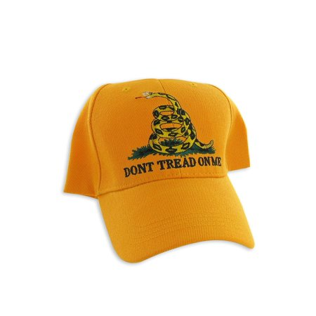 Online Stores, Inc. Gadsden Flag Hat Yellow Dont Tread On Me, Made of 100% cotton By Online Stores Inc (Adult Online Stores)