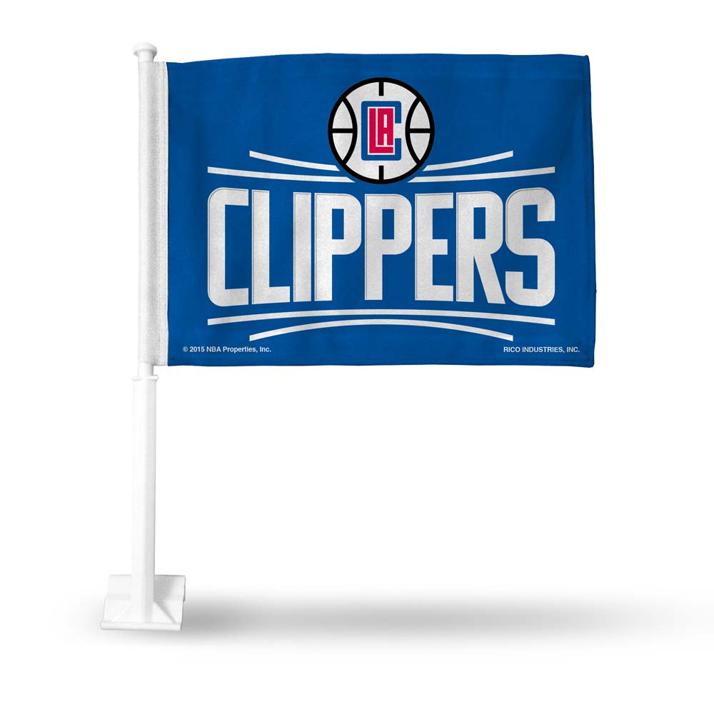 Los Angeles Clippers Car Flag