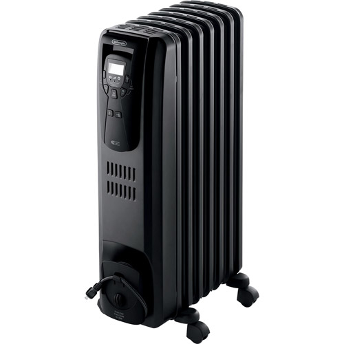 DeLonghi Electric 1500W Digital Oil-Filled Convection Radiator Heater,  EW7507EB