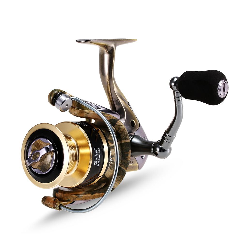 13+1 Ball Bearings Spinning Fishing Reel Fresh/Salt Water Sea Carp Fishing Spinning Reel