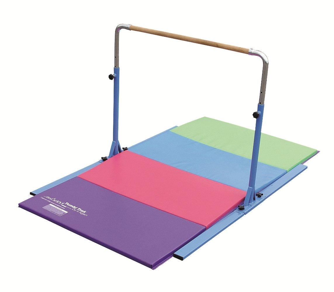 d6e94b8ca118 Tumbl Trak Junior PRO Gymnastics Adjustable Horizontal Bar - Walmart.com