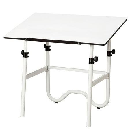 Alvin 42 Inch Onyx Adjustable Drafting Table Walmartcom