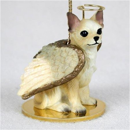 Chihuahua, Tan/White Tiny Ones Dog Angels (2 in), Each figurine is carefully hand painted for that extra bit of realism. By Conversation Concepts Ship from US