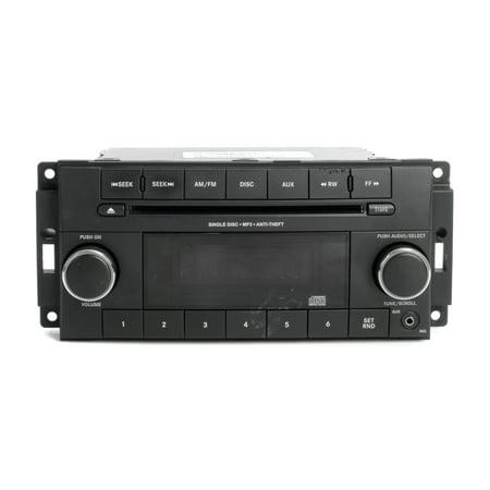 12-17 Dodge Caravan Chrysler Town & Country AM FM Radio w Auxiliary P05091301AB - (2009 Chrysler Town And Country Radio Problems)