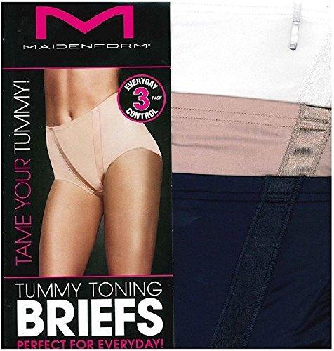 Maidenform Flexees Tummy Control Toning Briefs Size Medium 11 Colours NEW