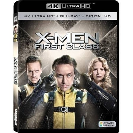 X Men  First Class  4K Ultra Hd   Blu Ray   Digital Hd