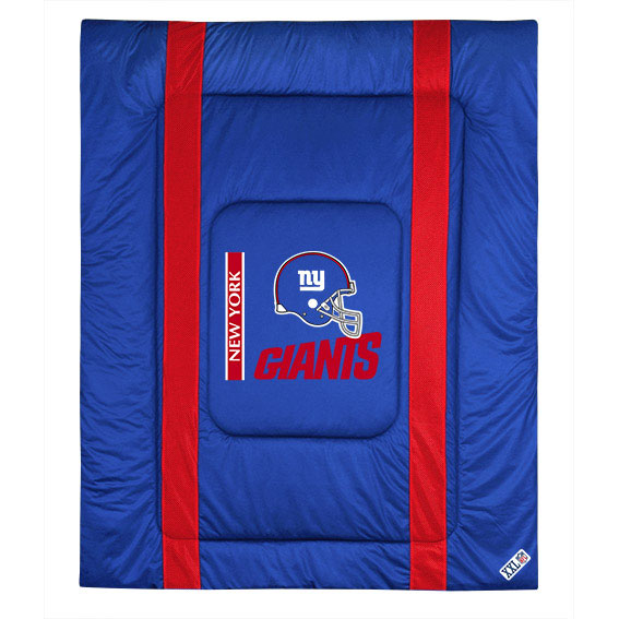 NFL New York Giants Comforter Sidelines Football Bedding