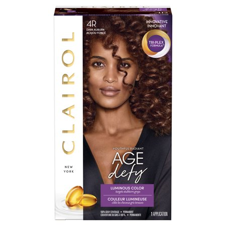 Clairol Age Defy Expert Collection Hair Color, 4R Dark