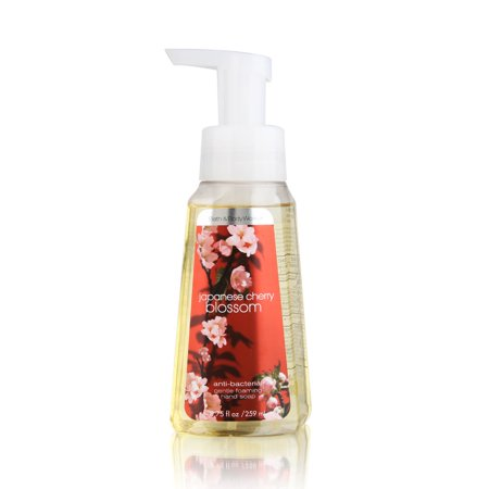Bath & Body Works Japanese Cherry Blossom 8.75 oz Anti-Bacterial Gentle Foaming Hand Soap - Gentle Foaming Hand Soap