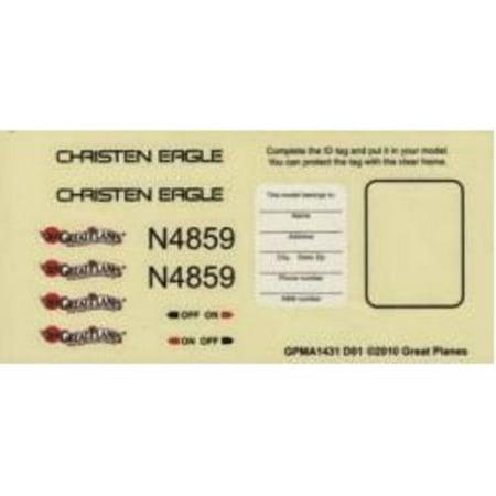 GREAT PLANES Decals Christen Eagle 46 ARF GPMA4170 ()
