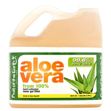 Fruit Of The Earth Aloe Vera Juice  Original  128 Fl Oz  1 Count