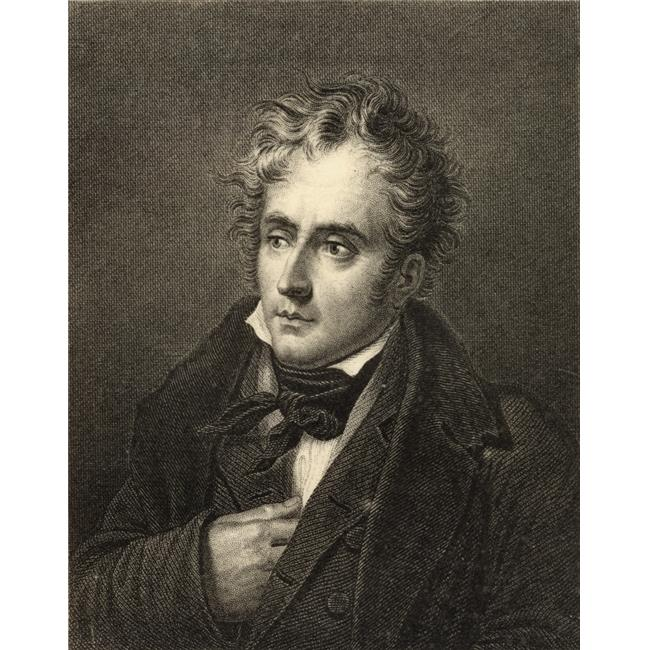 Posterazzi DPI1858321 Francois Rene De Chateaubriand, 1768-1848 French Politician & Author Photo-Etching After The Engraving by Hopwood From The Book - Lady JacksonS Works XIV The Court of The Tui - image 1 de 1