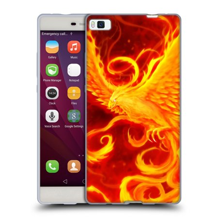 OFFICIAL CHRISTOS KARAPANOS PHOENIX 3 SOFT GEL CASE FOR HUAWEI PHONES 2