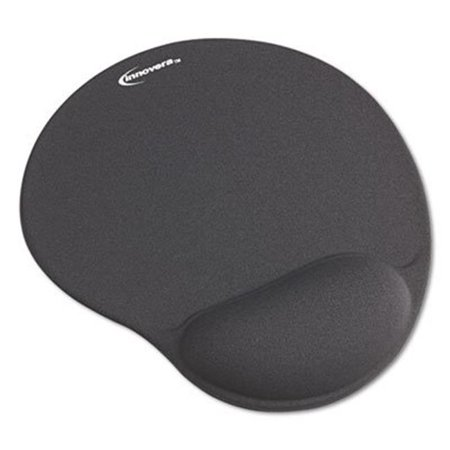 Mouse Pad with Gel Wrist Pad, Nonskid Base, 10.38 x 8.88, Blue - image 1 de 1