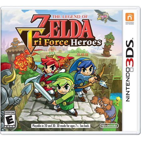 The Legend of Zelda: Tri Force Heroes, Nintendo, Nintendo 3DS, [Digital Download], (The Legend Of Zelda The Hero Of Time)