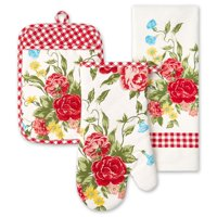 The Pioneer Woman Sweet Rose 3-Piece Kitchen Set