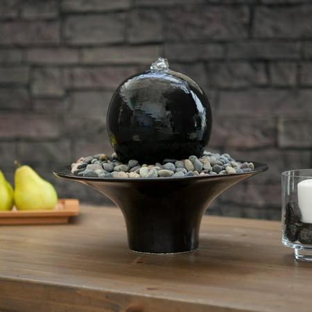 Nayer Kazemi Water Art Gentle Presence Tabletop Outdoor Fountain