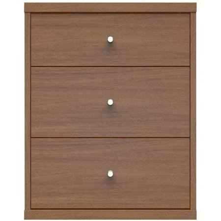 Manhattan Comfort Astor 2.0 Modern Nightstand with 3 Drawers