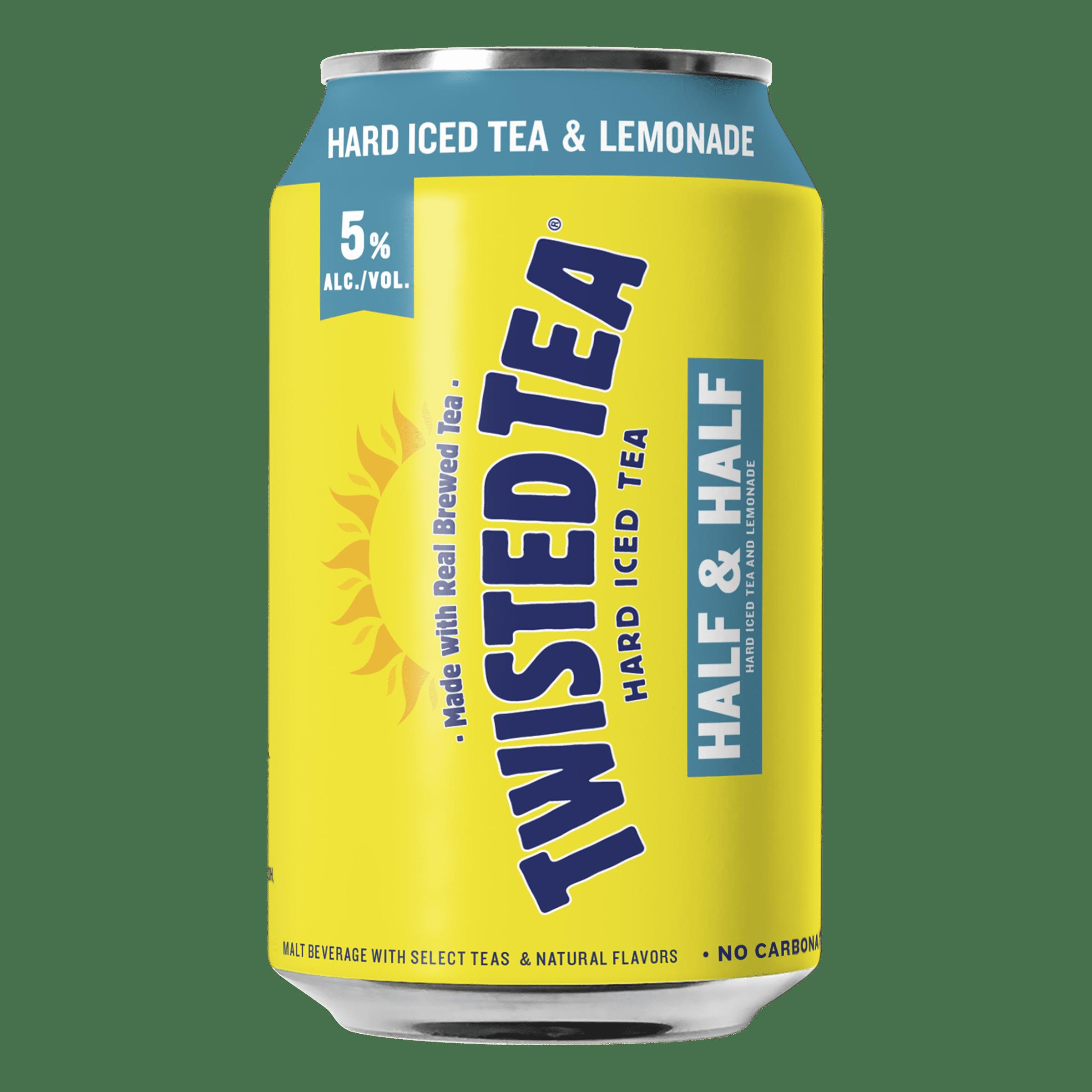 Twisted Tea Half Half Hard Iced 12 Pack Beer Cans 12 Fl Oz Walmart Com Walmart Com