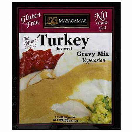 Mayacamas Turkey Flavored Vegetarian Gravy Mix, 0.7 oz, (Pack of