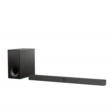 Sony HTCT290 Ultra-Slim 300W Sound Bar Soundbar Home Speaker, Set of 1, Black