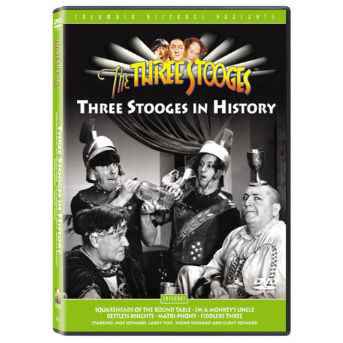 Three Stooges: Three Stooges In History (Full Frame)