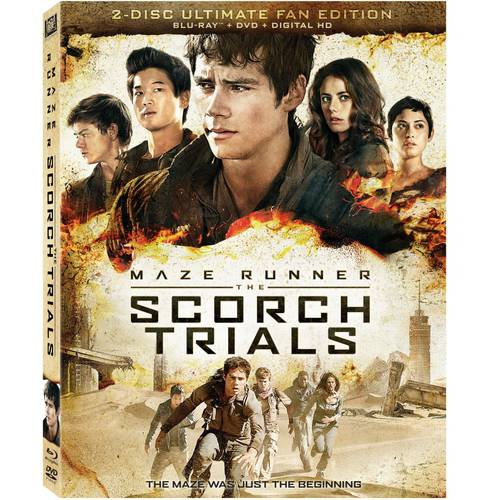 The Maze Runner: The Scorch Trials - The Ultimate Fan Edition (Blu-ray + DVD + Digital HD) (With INSTAWATCH) 288709878