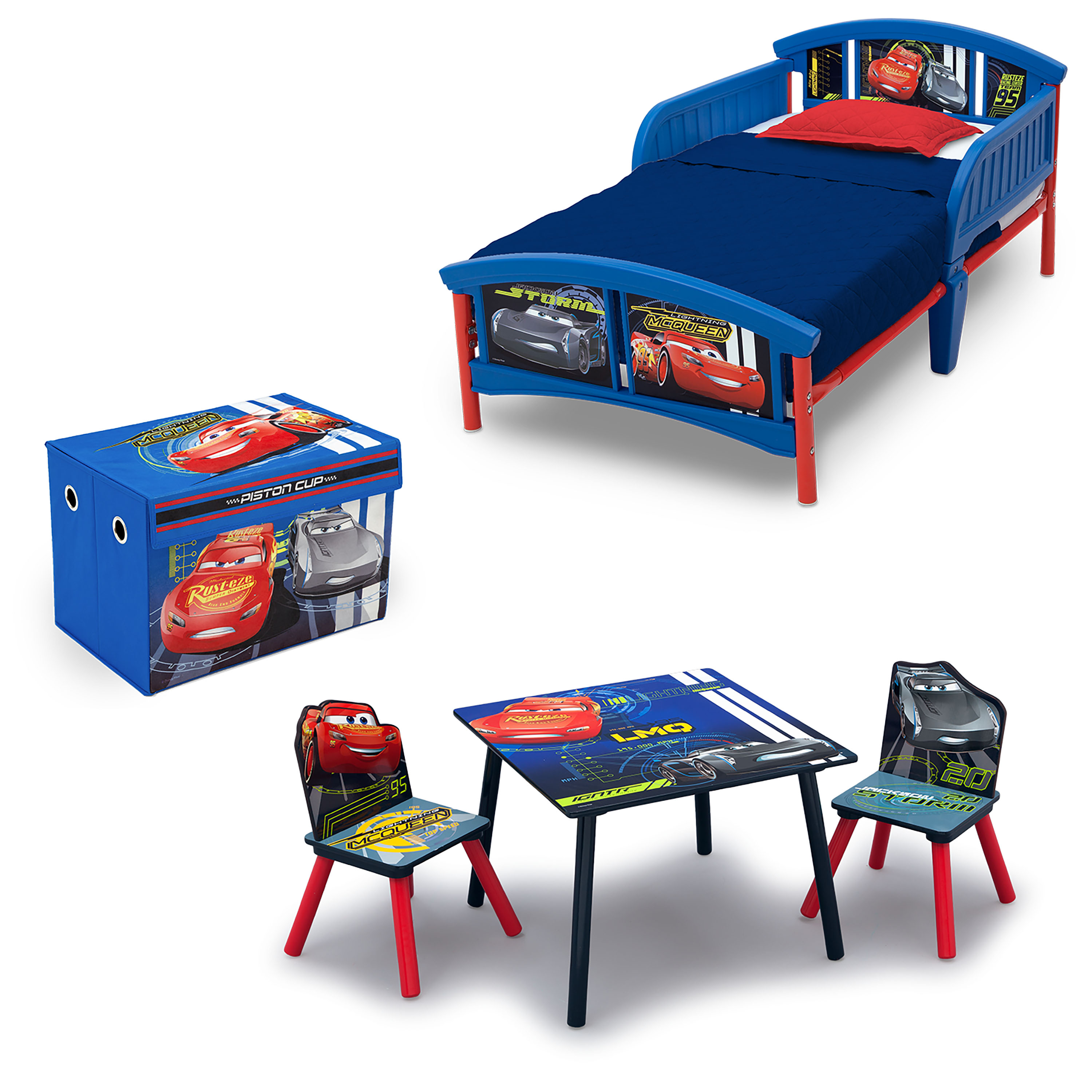 Disney Cars Chair And Desk Combo With Storage Bin Disney