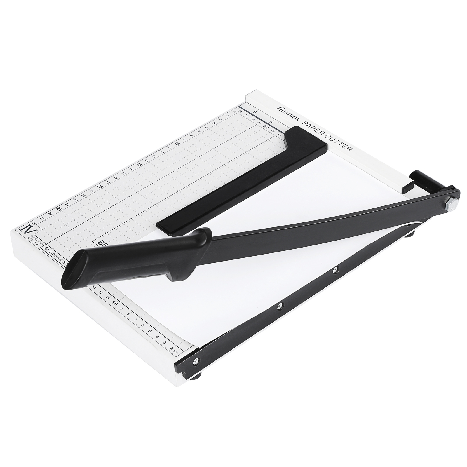 HOMDOX Professional A4 Paper Cutter Steel Heavy Duty 10 SHeets Paper Trimmer by