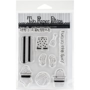 """Two Paper Divas Clear Stamps 7""""X4.5""""-Life's A Breeze"""