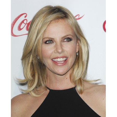 Charlize Theron At Arrivals For Cinemacon Big Screen Achievement Awards The Colosseum At Caesars Palace Las Vegas Nv April 26 2012 Photo By Elizabeth Goodenougheverett Collection Photo Print