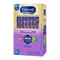 Enfamil Gentlease NeuroPro Baby Formula, 8.54 oz, 14 Packets of Single Serve Powder