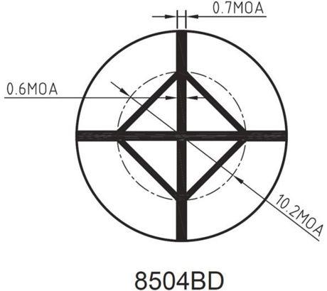 4x32 Sr Diamnd Blk W Rings