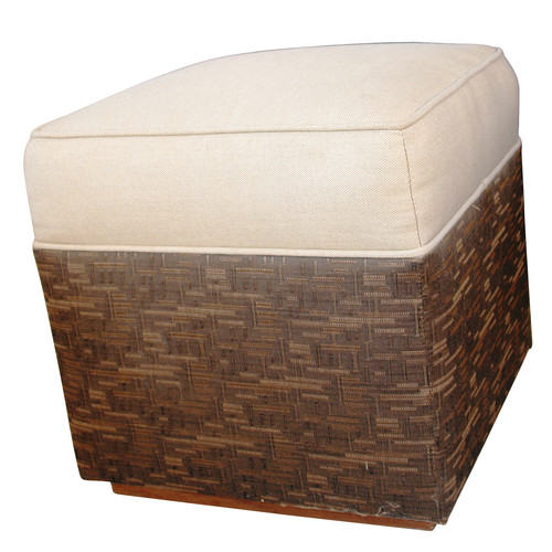 Somers Furniture New American Ottoman with Cushion