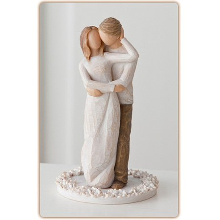 Willow Tree Together Love Cake Topper by Susan Lordi 27162 Anniversary Wedding (Halloween Tree Cake Topper)