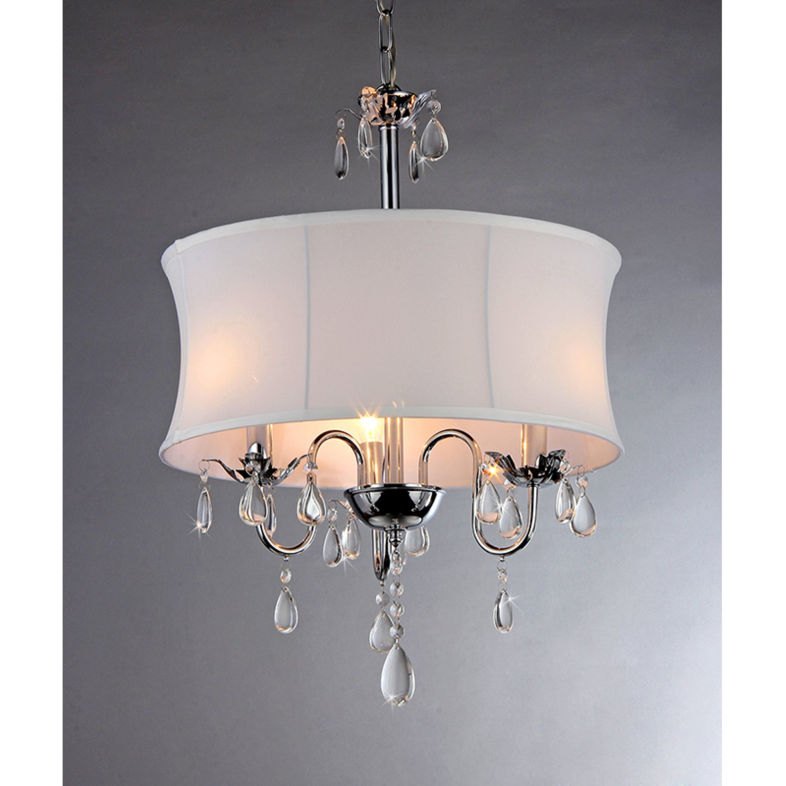 Warehouse of Tiffany Elegant RL3207 Crystal Chandelier by Warehouse of Tiffany, Inc.