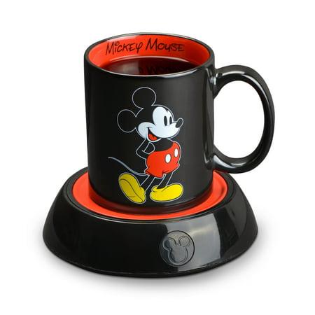 Disney Mickey Mouse Mug Warmer with 10 Ounce Mug, 2 Piece
