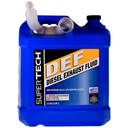 Super Tech DEF Diesel Exhaust Fluid, 2 5 Gallon