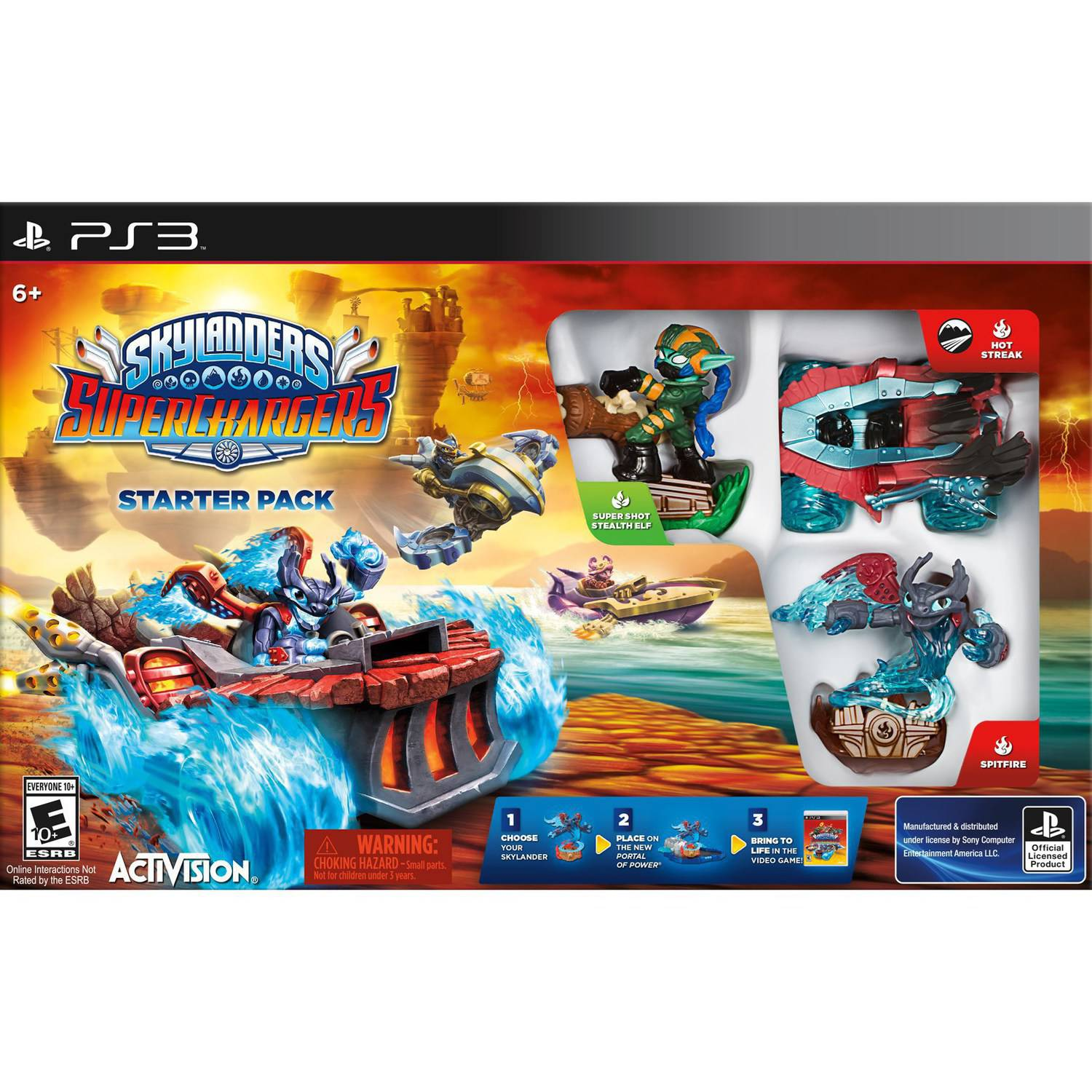 Skylanders Superchargers Starter Kit (PS3)