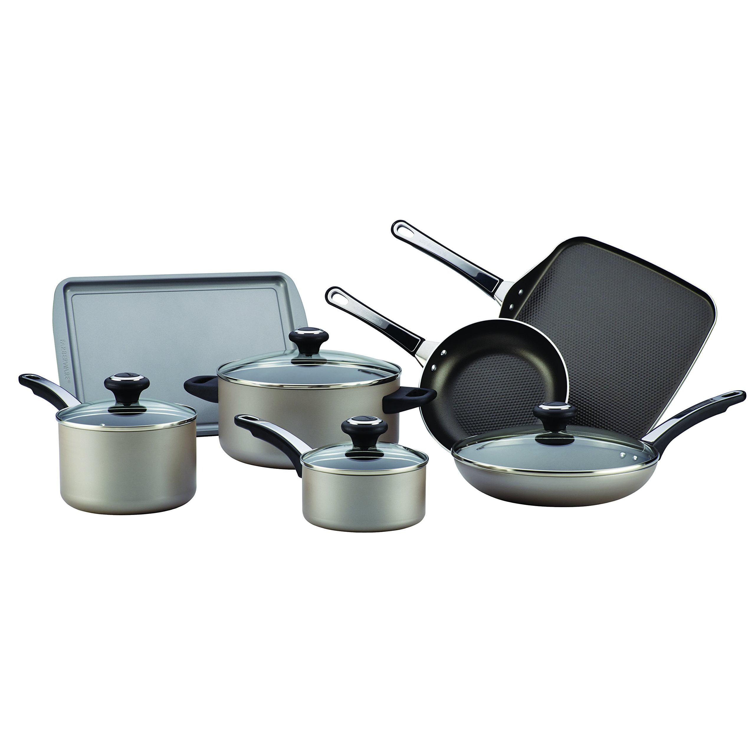 Farberware Faberware High Performance Nonstick 17-Piece Cookware Set