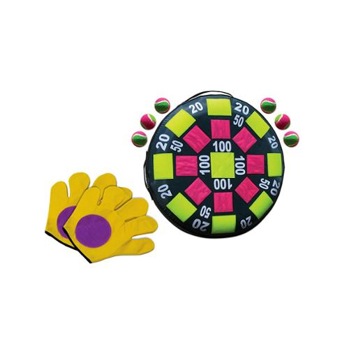 2-in-1 Target and Catch Swimming Pool, Lawn or Deck Combo Game