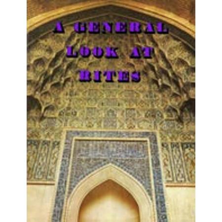 A General Look at Rites - eBook