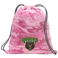 Girls Baylor University Drawstring Backpack Pink Camo Baylor Cinch Pack for Girls Women Her