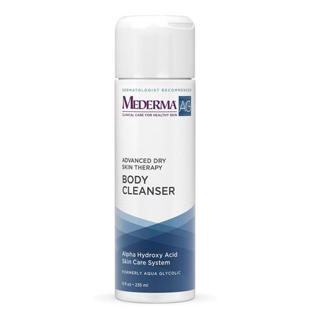 Moisturizing Body Cleanser – moisture rich, pH-balanced, body cleanser with glycolic acid to exfoliate – dermatologist recommended brand, hypoallergenic,.., By Mederma
