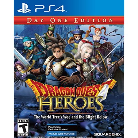 Image of Dragon Quest Heroes: The World Trees Woe and the Blight Below- PlayStation 4