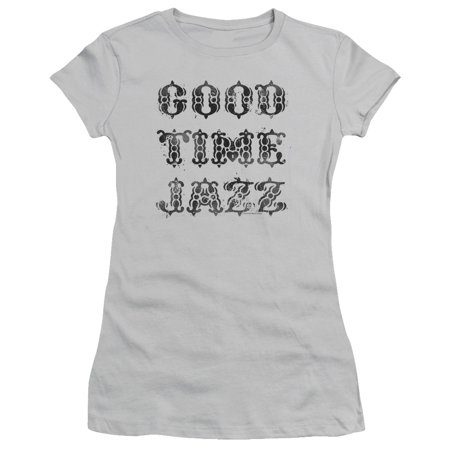 Good Time Jazz Gtj Vintage Juniors Short Sleeve Shirt