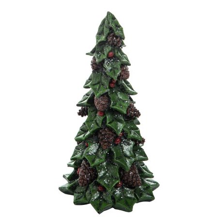 The Holiday Aisle Resin Holly Tree Figurine