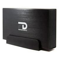 Fantom Drives 10TB G-Force3 USB 3.0 Aluminum External Hard Drive (GF3B10000U)