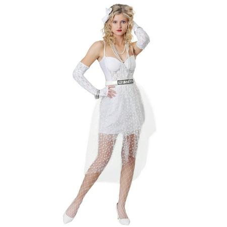 Like A Virgin Halloween Costume (Women's Like a Virgin Popstar)